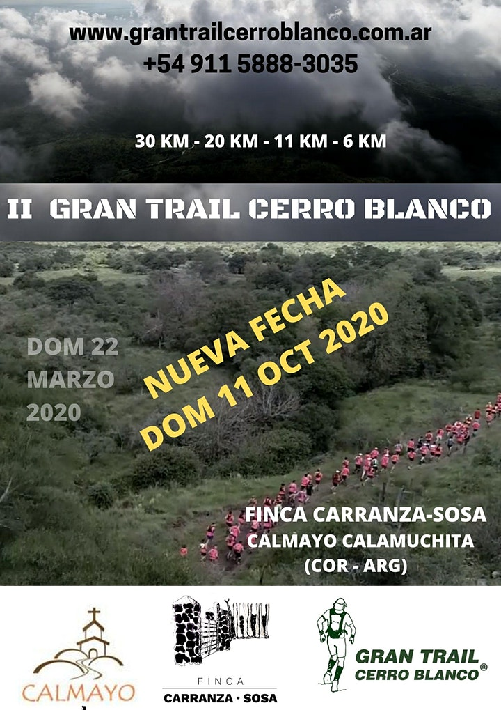 Imagen de II GRAN TRAIL CERRO BLANCO (NUEVA FECHA)