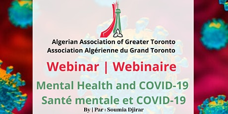 Mental Health and COVID-19 | Santé mentale et COVID-19 tickets