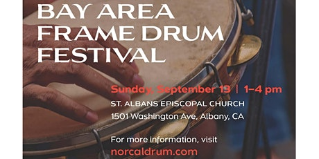 Bay Area Frame Drum Festival 2020 tickets