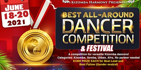 Kizomba Harmony 3rd Annual Best All Around Dancer Competition and Festival 2021 tickets