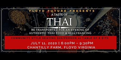 A Taste of Thai POP UP Dinner tickets