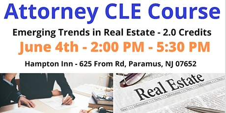 CLE Course: Emerging Trends in Real Estate tickets