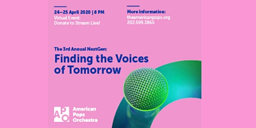 The Third Annual NextGen: Finding the Voices of Tomorrow
