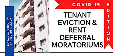 Webinar Landlord Prep: COVID-19 Tenant Eviction & Rent Deferral Moratoriums tickets