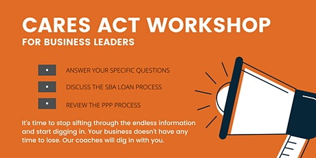 CARES Act Workshop tickets