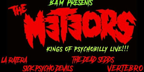 The Meteors (UK) Kings of Psychobilly Live! tickets