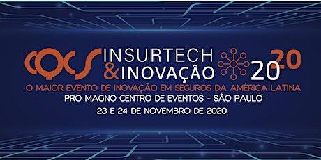 CQCS INSURTECH & INOVAÇÃO - 23  e 24 de Novembro de 2020! tickets