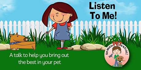 Listen To Me! - An Online Talk To Get Your Dog To Listen tickets
