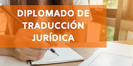 Diplomado de traducción jurídica boletos