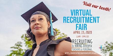 Camden City School District Virtual Recruitment Fair - New Jersey tickets