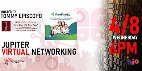 Free Jupiter Rockstar Connect Networking Event (April, Florida) tickets