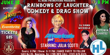 Rainbows Of Laughter Comedy & Drag Show tickets