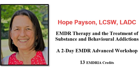 Live Online Webinar - EMDR Therapy and the Treatment of Substance and Behavioural Addictions tickets