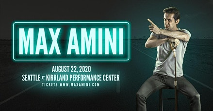 Max Amini Live in Seattle  tickets