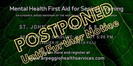 Mental Health First Aid Training: SENIORS - St. John's, NL tickets