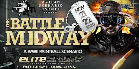 Battle of Midway: Paintball Scenario Game: 2 Day Event tickets