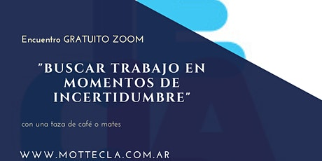 BUSCAR TRABAJO EN MOMENTOS DE INCERTIDUMBRE  entradas