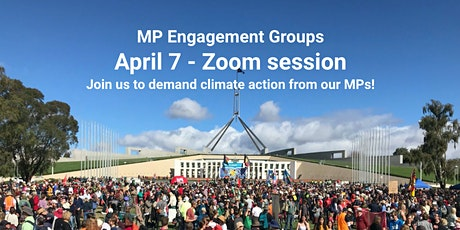 MPEG April Letter Storm - join us to demand climate action from our MPs tickets