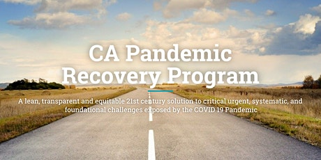 CA Pandemic Recovery - Planning Now for the Road Ahead tickets