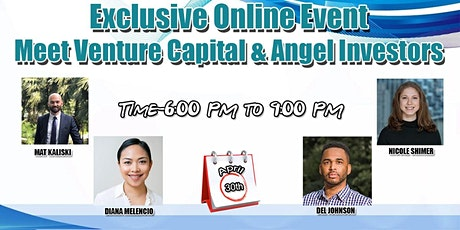 Meet Venture Capital & Angel Investors - Virtual Event tickets