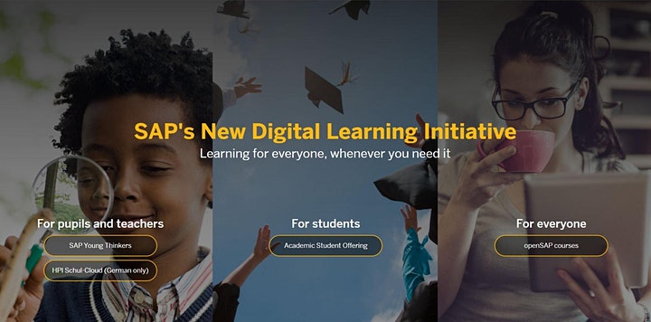 Learn A New Skill: Digital Professional Development with openSAP image