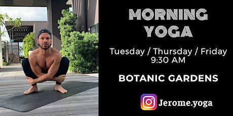 Morning Yoga @ Botanic Gardens tickets