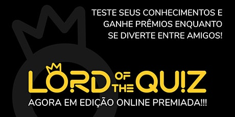 Lord of the Quiz Online PREMIUM (eventos premiados) ingressos