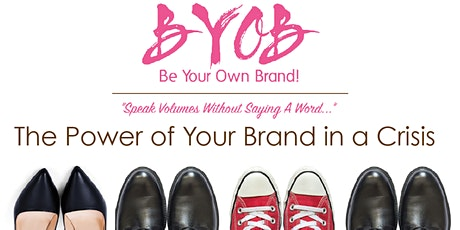 The Power of a Brand - Your Brand In A Crisis! - Webinar - Test Event tickets