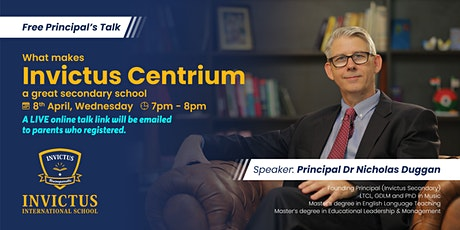 What makes Invictus Centrium a great secondary school tickets