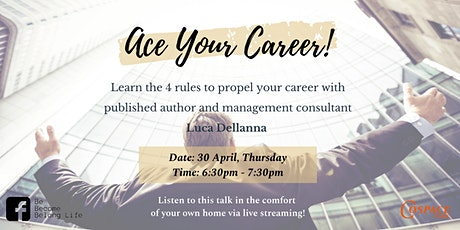 Self-Development Talk:  Ace Your Career! (Online Session) tickets