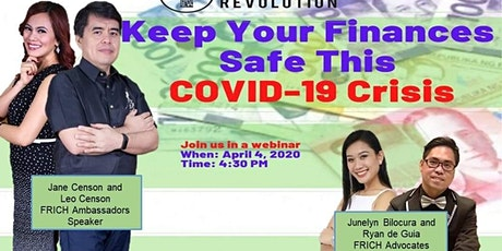 FREE WEBINAR for OFWs: Keep Your Finances Safe This COVID-19 Crisis tickets