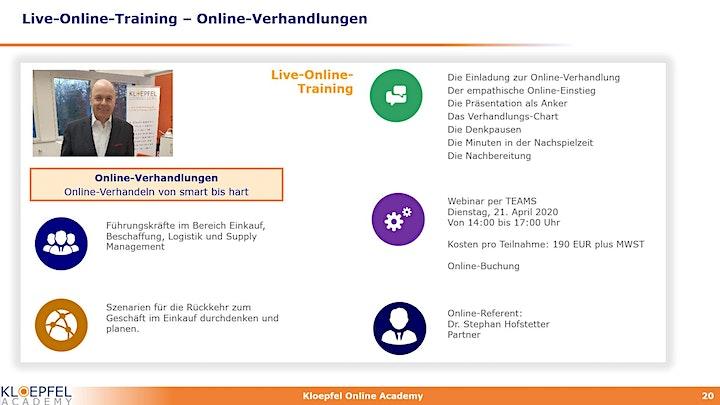 Online-Verhandlungen | Live-Online-Training: Bild