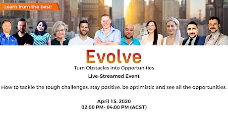 Evolve - Turn Obstacles into Opportunities tickets