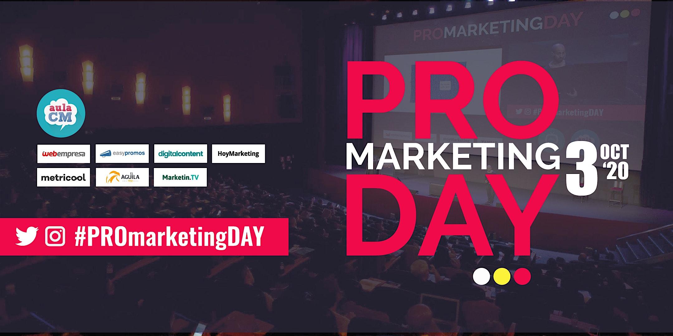 PRO MARKETING DAY 2020 - 4ª EDICIÓN - 3 DE OCTUBRE
