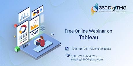 Free Online Webinar On Tableau tickets