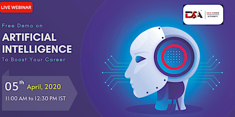 Free Demo on Artificial Intelligence (AI) tickets