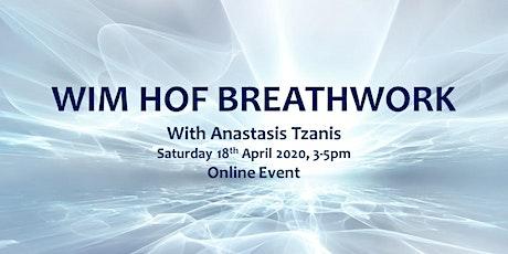 Wim Hof Breathwork with Anastasis Tzanis tickets