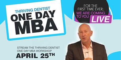 Thriving Dentist One-Day MBA Tickets