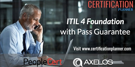 ITIL4 Foundation Certification Online Training in Palo Alto tickets