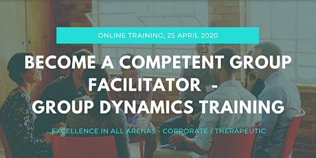 Become a Competent Group Facilitator - Online Training Day  tickets