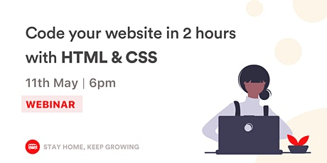 [WEBINAR] Build your first website Tickets