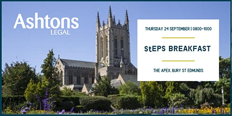 StEPS September Breakfast tickets