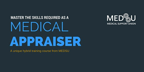 Train as Medical Appraiser Webinar - April 2020 tickets