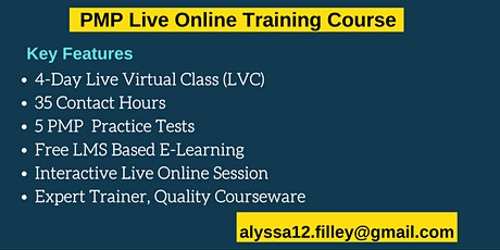 PMP LVC Certification Training Course in Amador City, CA tickets