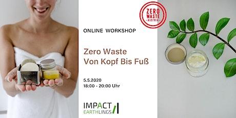Zero Waste Von Kopf Bis Fuß  - Online Workshop Tickets