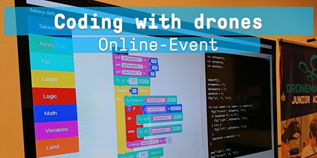 Coding with drones - DJI Ryze Tello Online Workshop Tickets