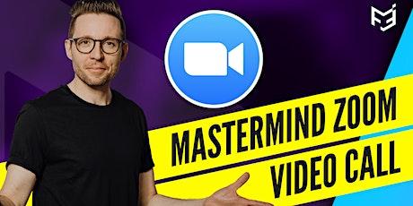 Mastermind ZOOM Video-Call  für Hörakustiker und Optiker Tickets