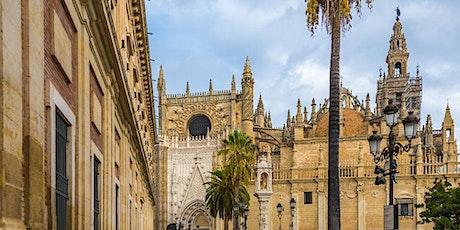 """Tour Sevilla Completa """"Catedral + Giralda + Alcázar + Judería + Centro entradas"""
