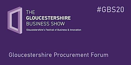 #GBS20 Gloucestershire Procurement Forum tickets