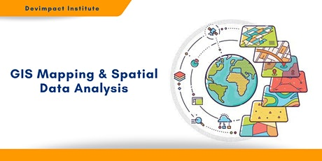 Training on GIS Mapping and Spatial Data Analysis tickets